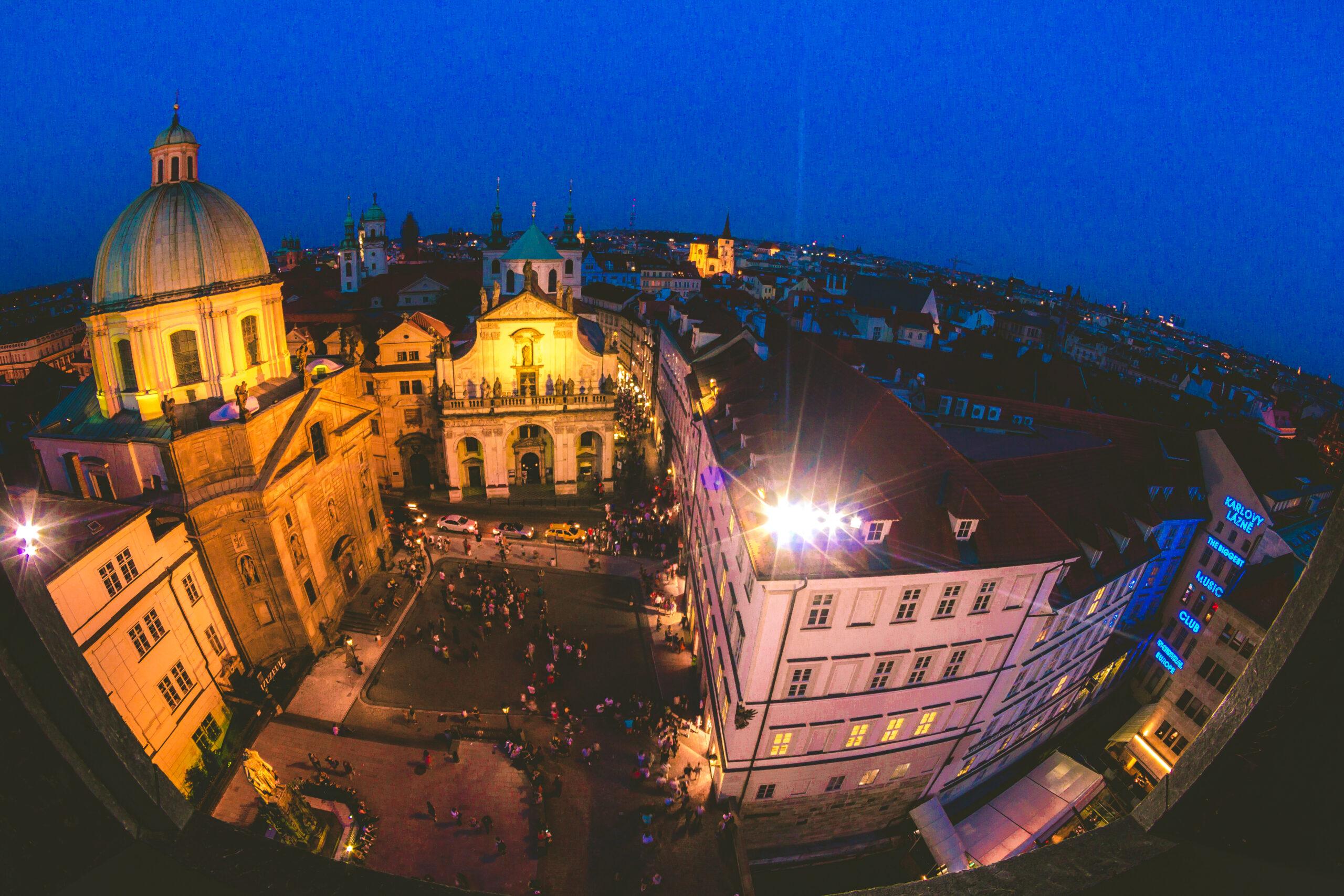 Cosas que hacer en Praga de noche