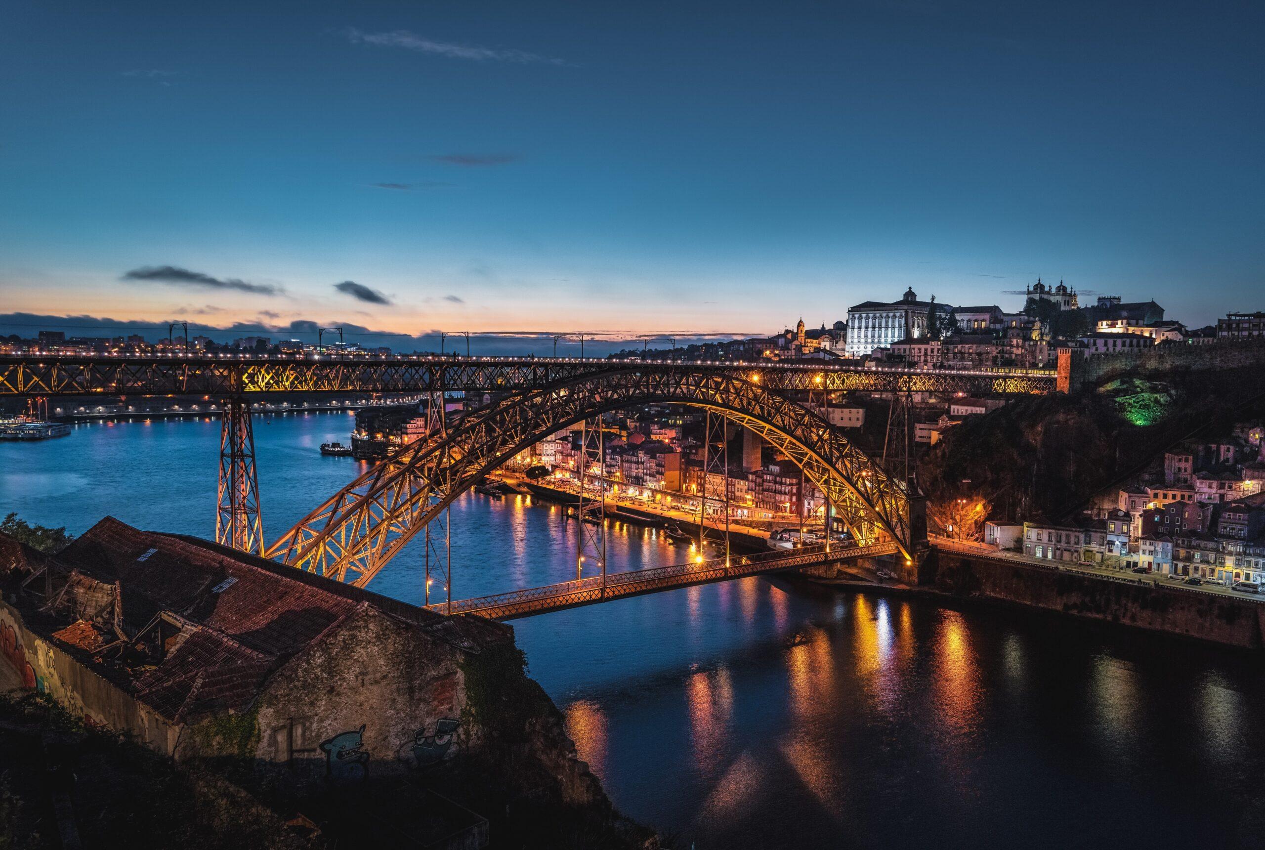 Puente Don Luis I - Oporto qué ver en 2 días
