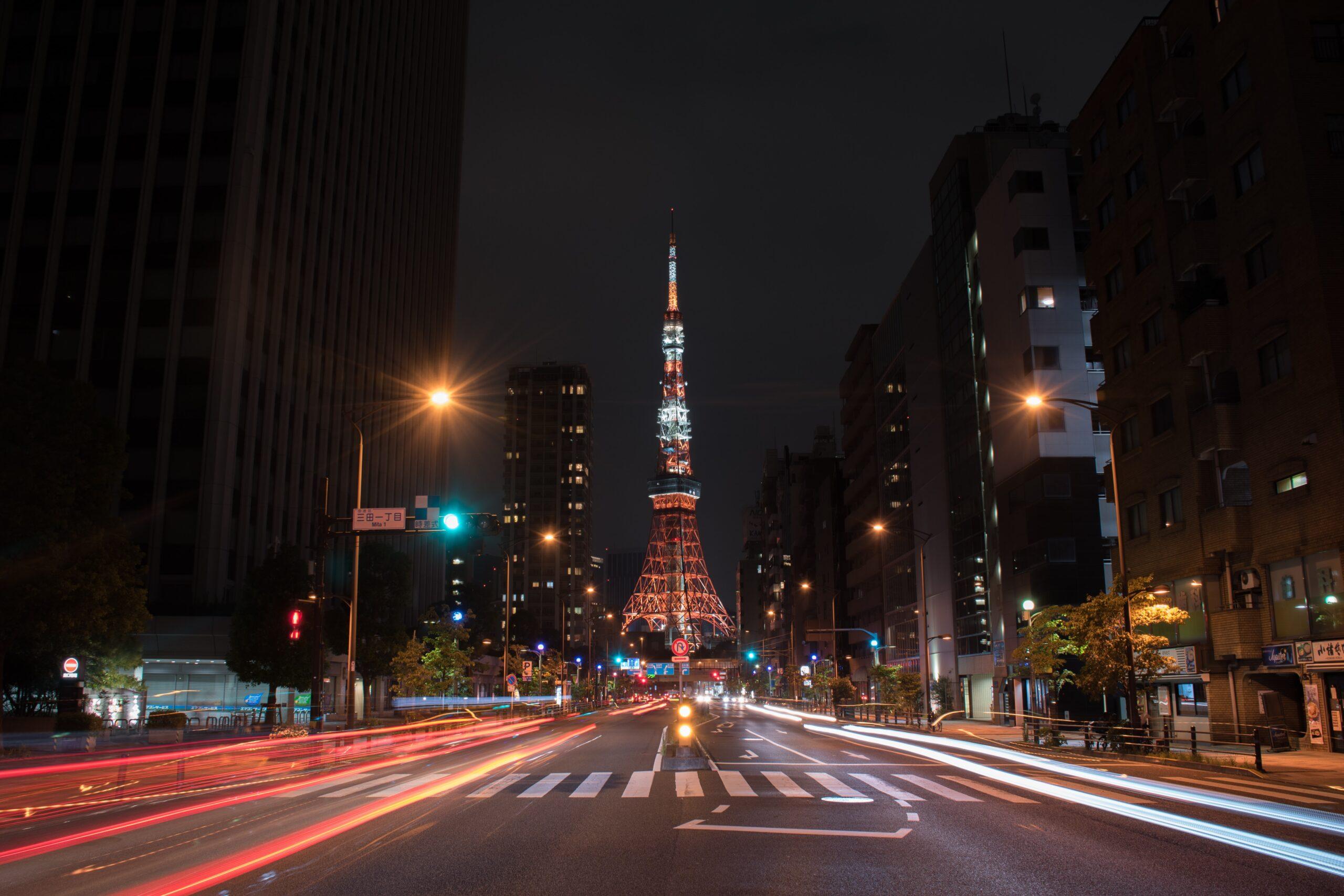 Que ver en Tokio de noche