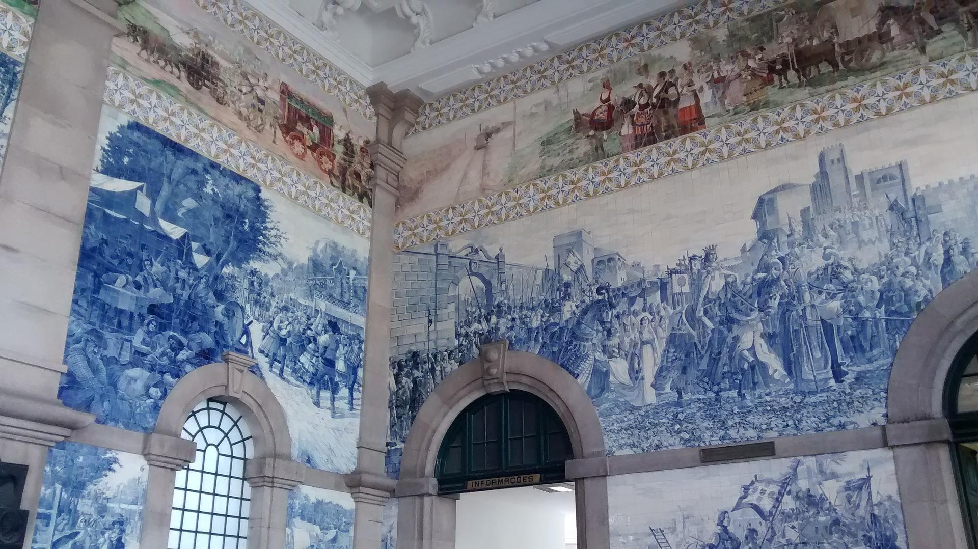 Estación de San Bento - Oporto: qué ver en 2 días