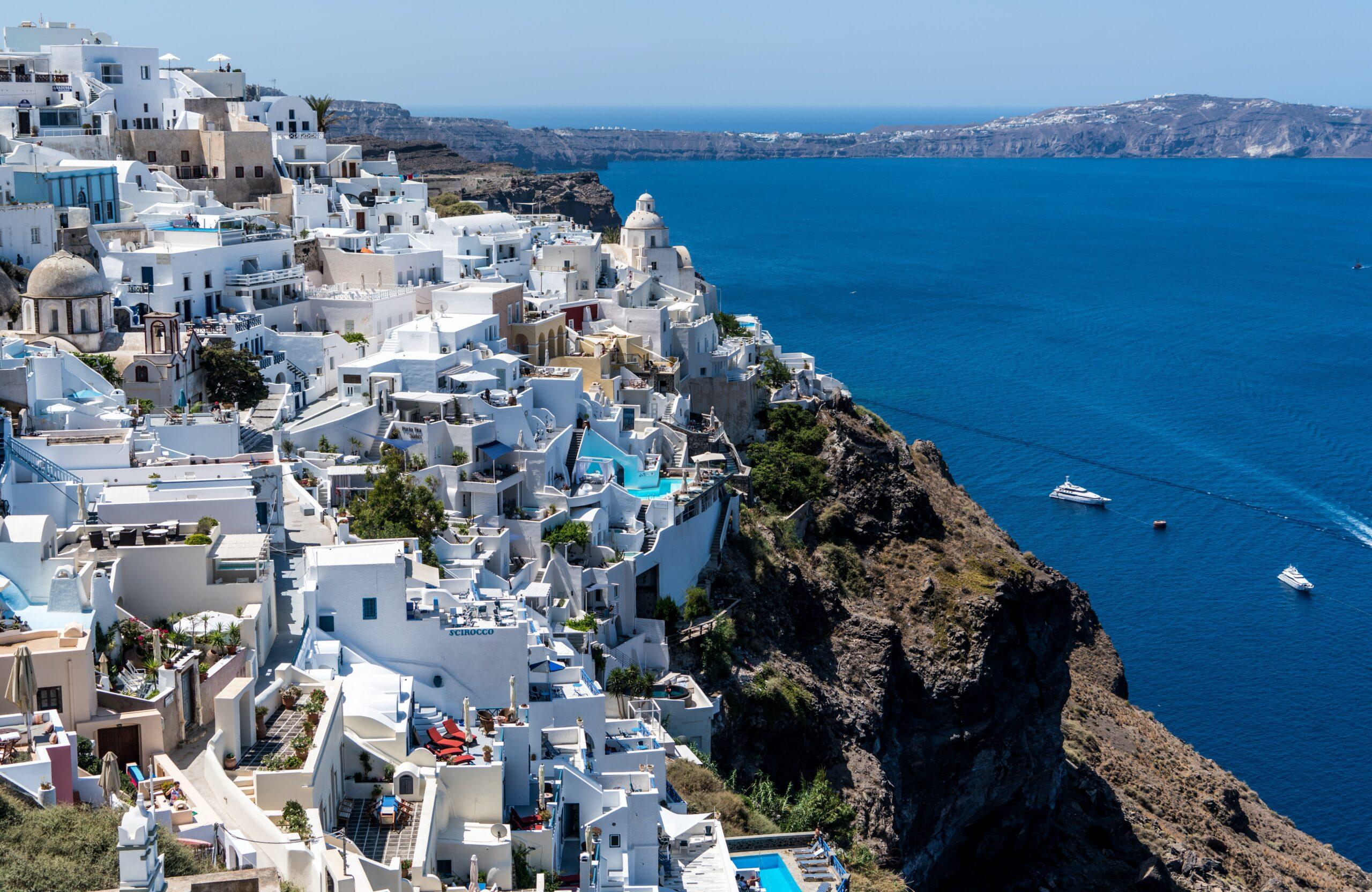 Santorini, una de las islas griegas más bonitas