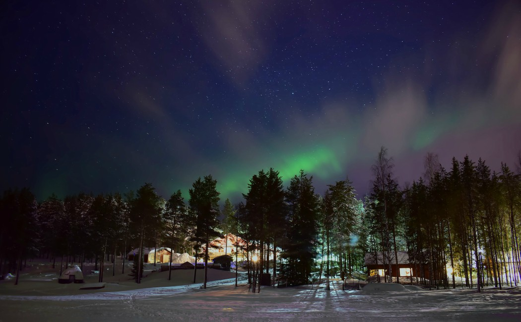 Aurora Boreal en Laponia. Viajar en familia: los 10 mejores destinos del planeta