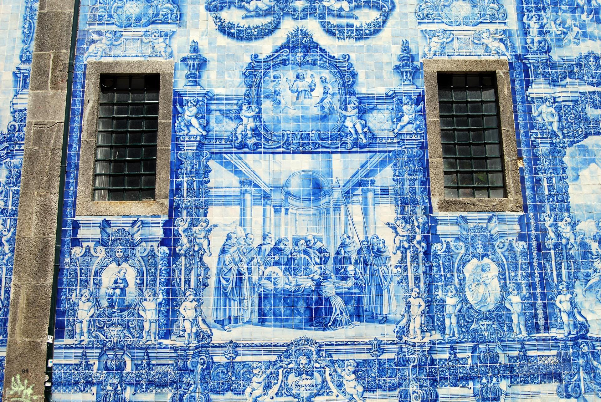 Exterior Capilla de las Almas - Oporto: qué ver en 2 días