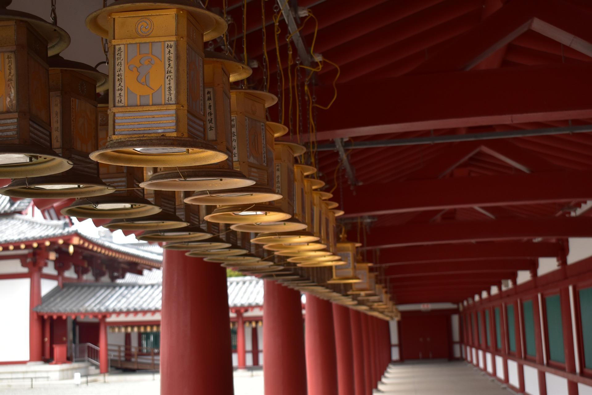 Campanas Templo Shitennoji