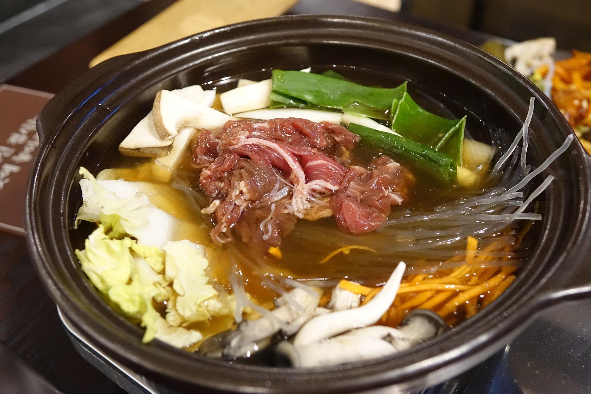 Sukiyaki; el hotpot japonés