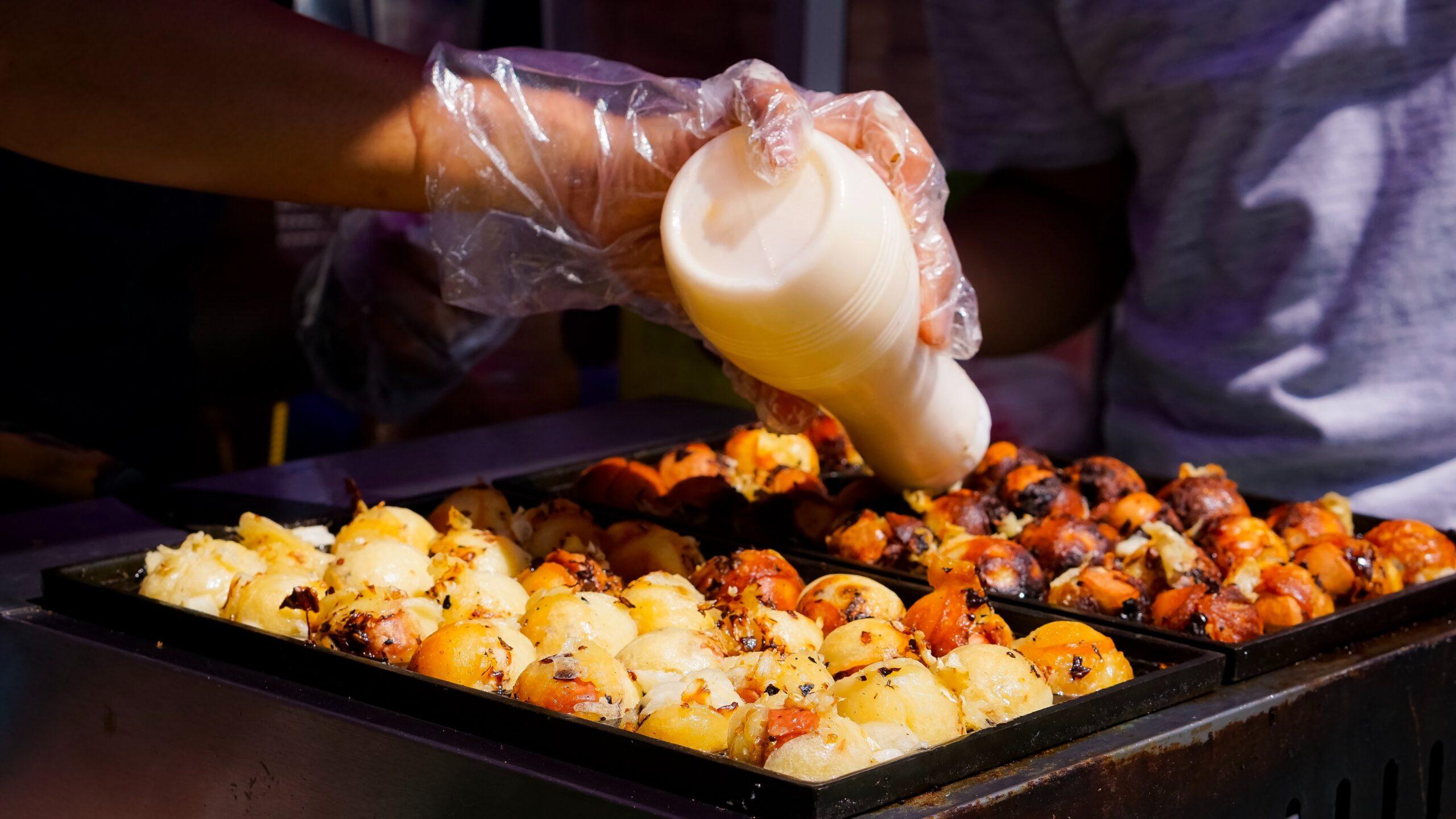que comer en Japón takoyaki