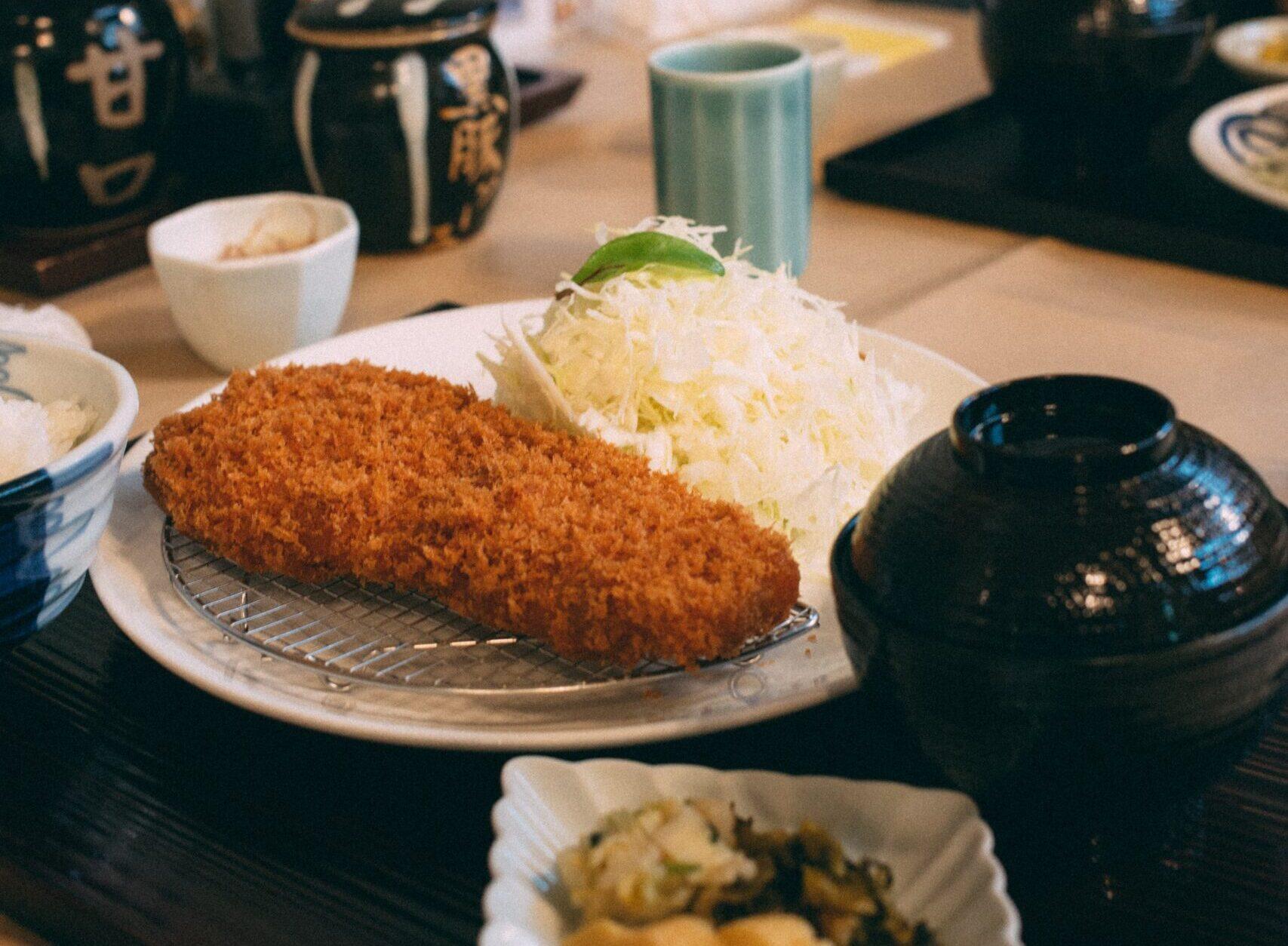 tonkatsu comer en Japón