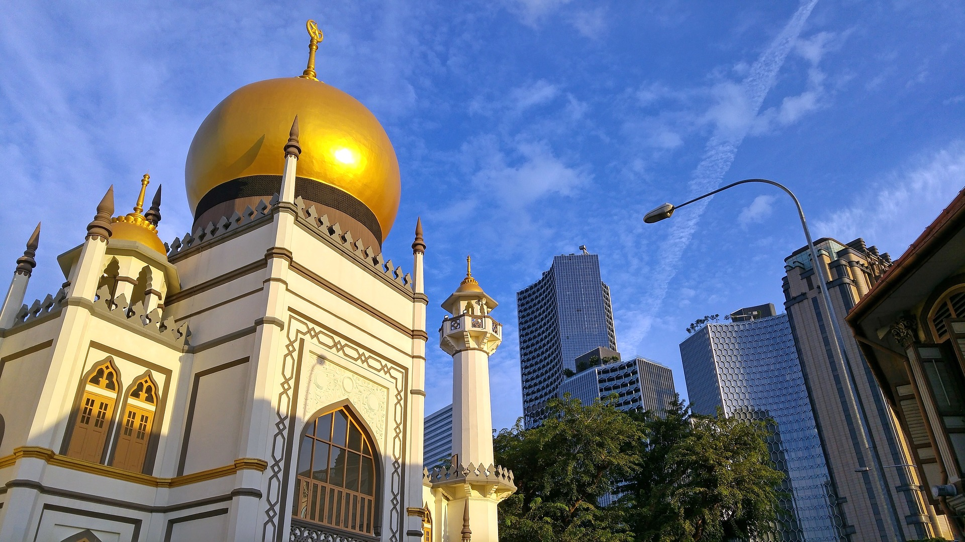 Fachada exterior Mezquita del Sultan