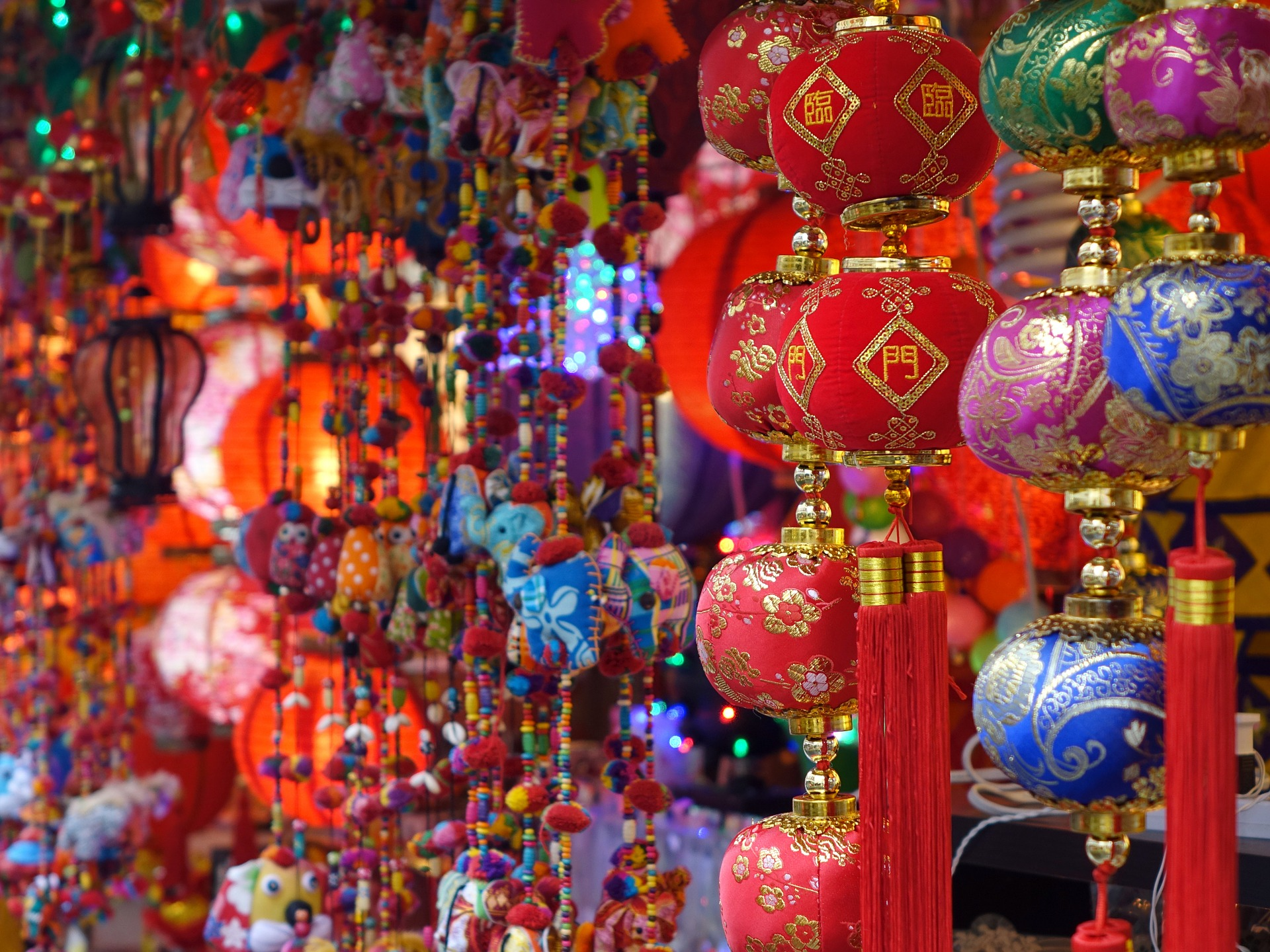Decoraciones tienda China Town