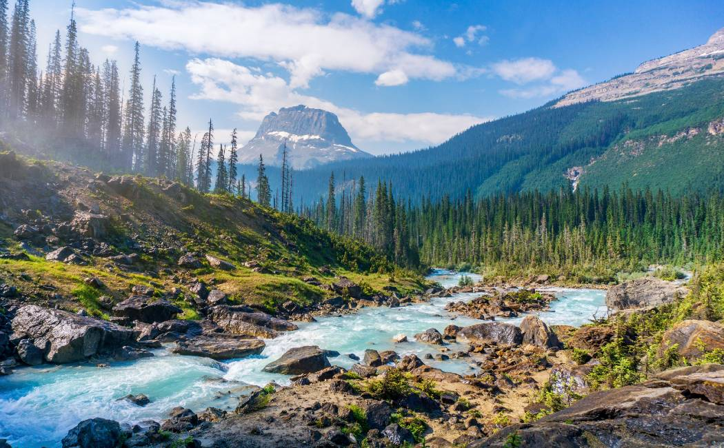 Parque Nacional de Yoho. Viajar a Canadá