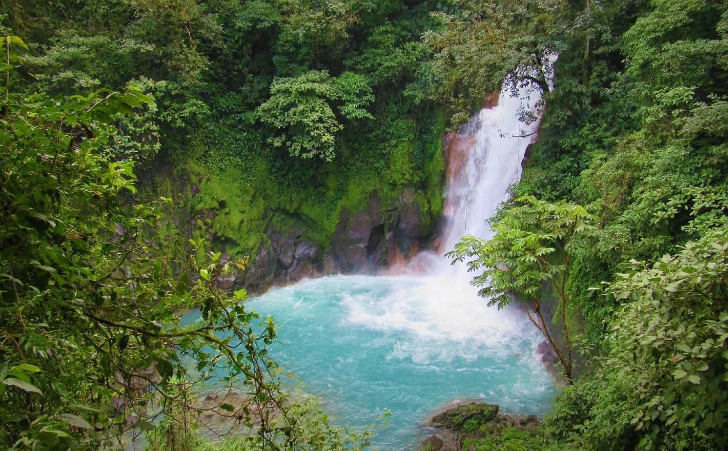 Cascada de Río Celeste