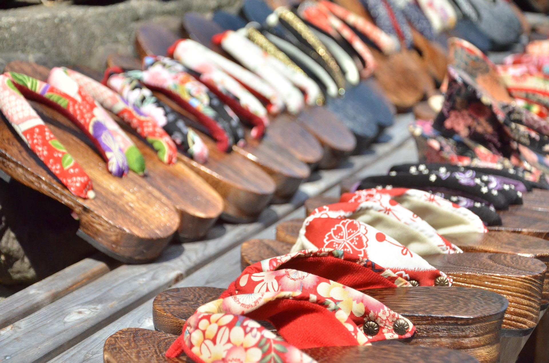 Calzado tradicional japonés; Geta