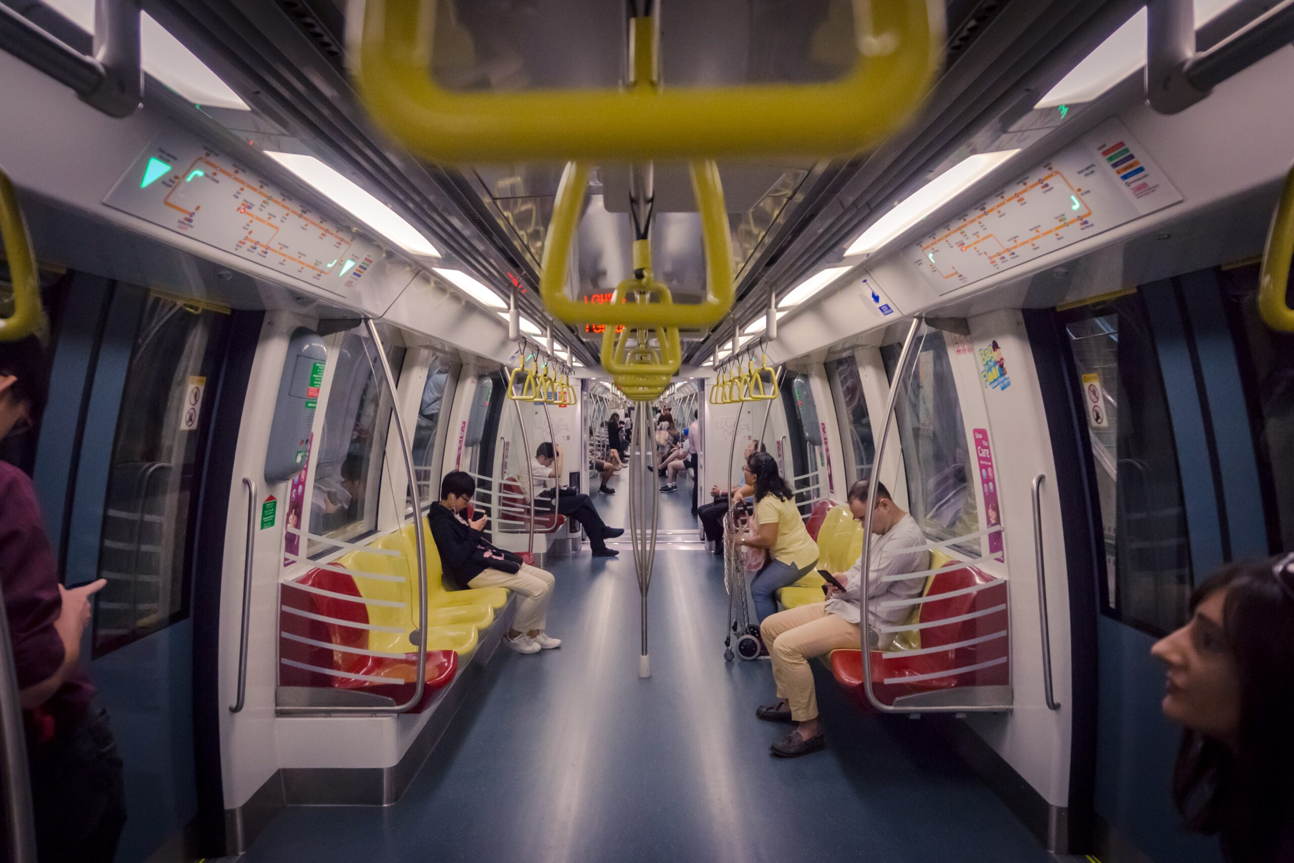 Vagón de metro de Singapur