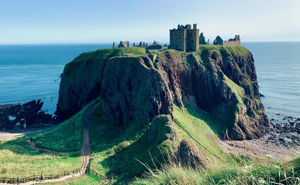 Castillo de Dunnottar. Qué ver en Escocia