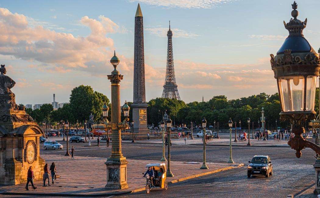 plaza de la concordia. Qué ver en París en 3 días