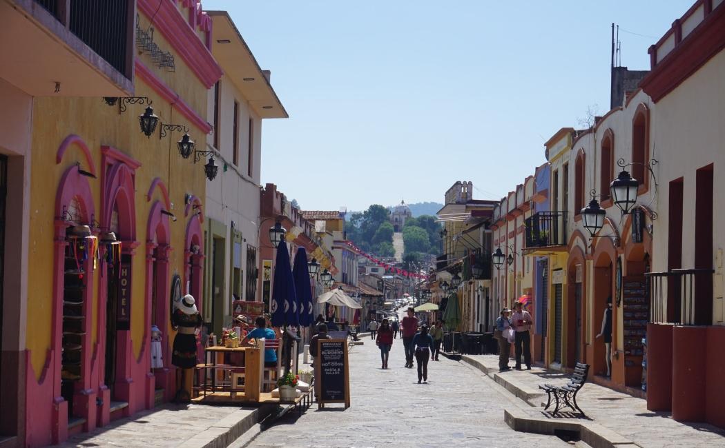 San Cristóbal de las Casas. Viajar a México