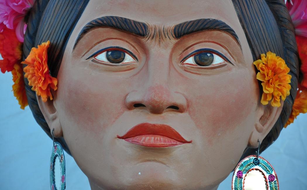 Frida Kalho. Viajar a México