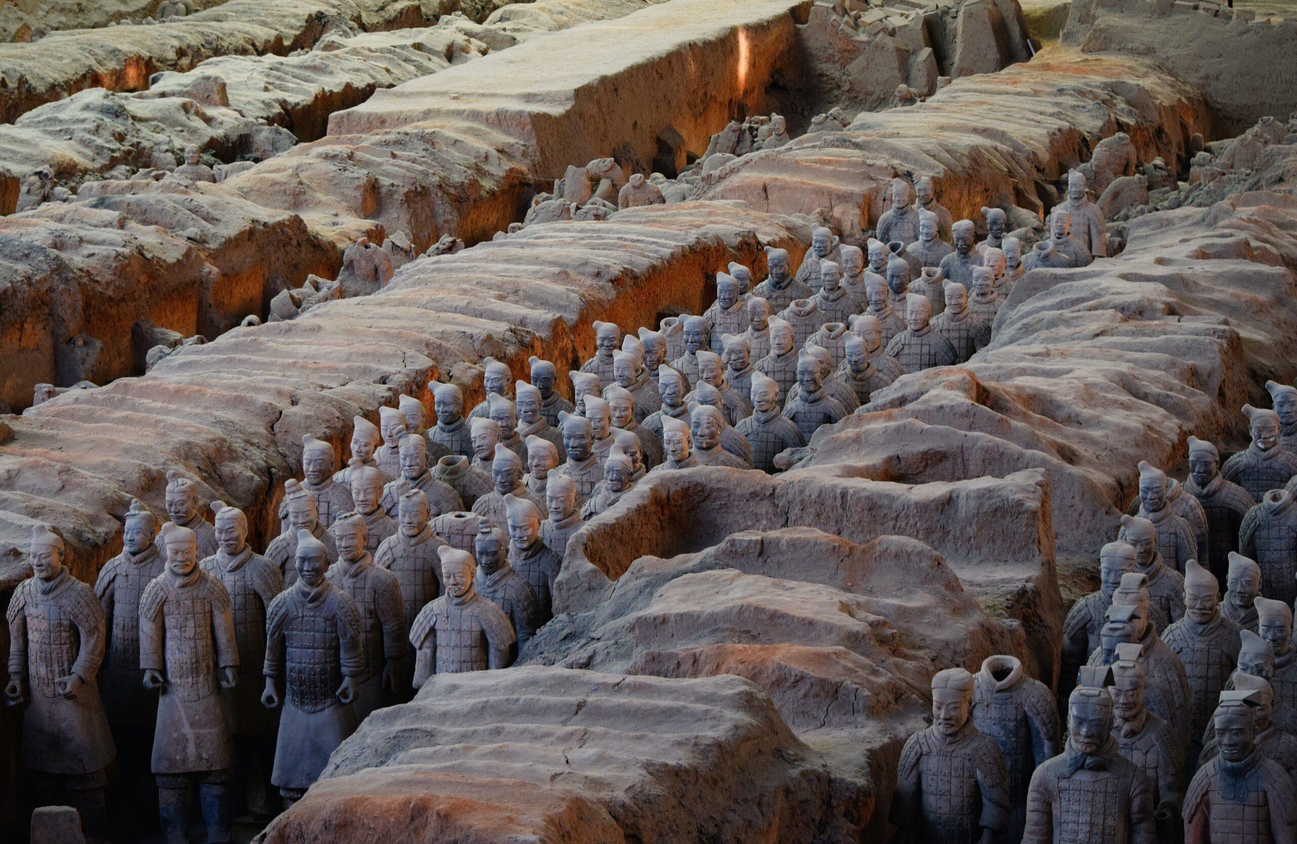 excavación Guerreros de terracota, Xi'an