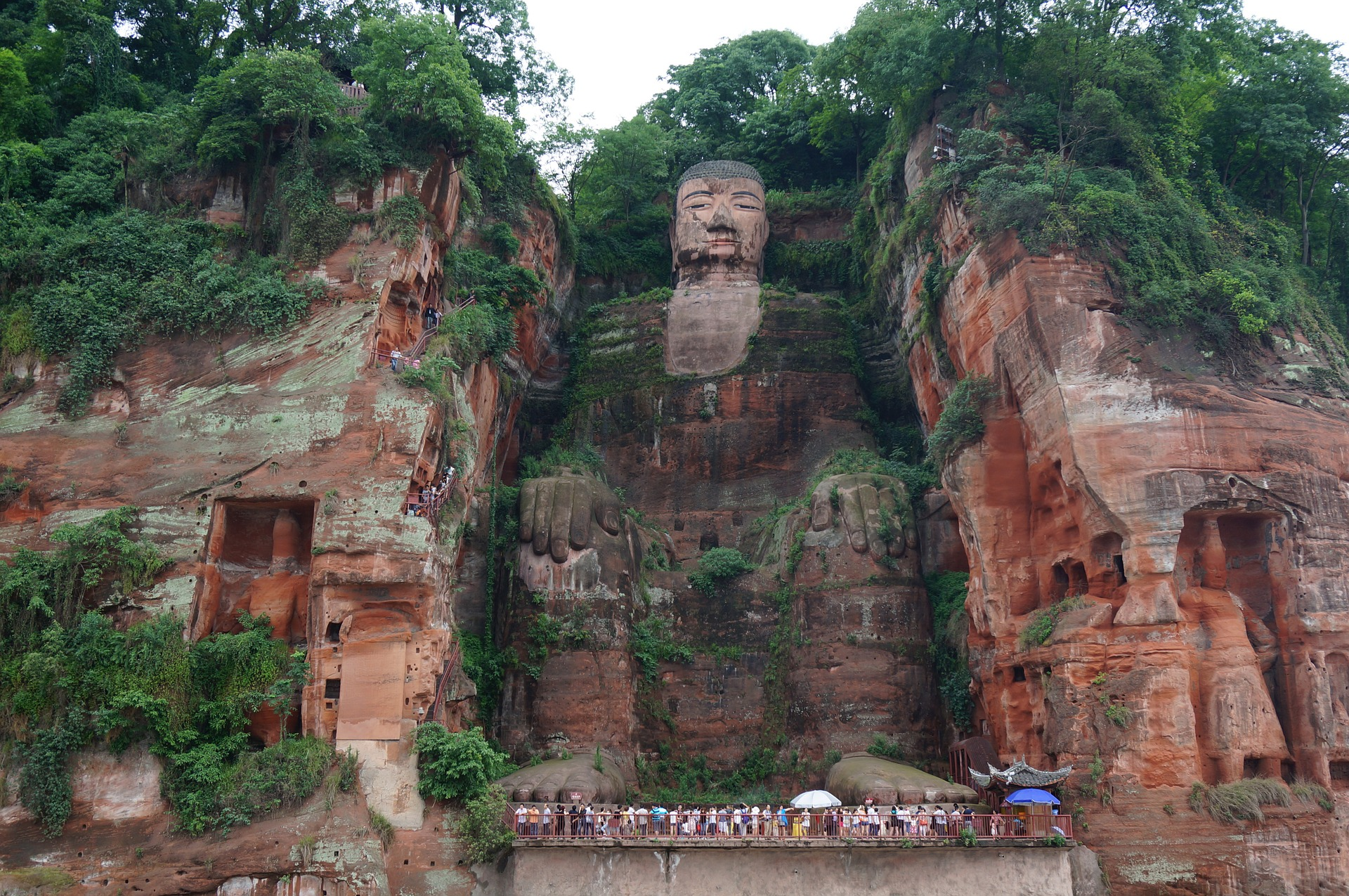 El gran Budha de Leshan