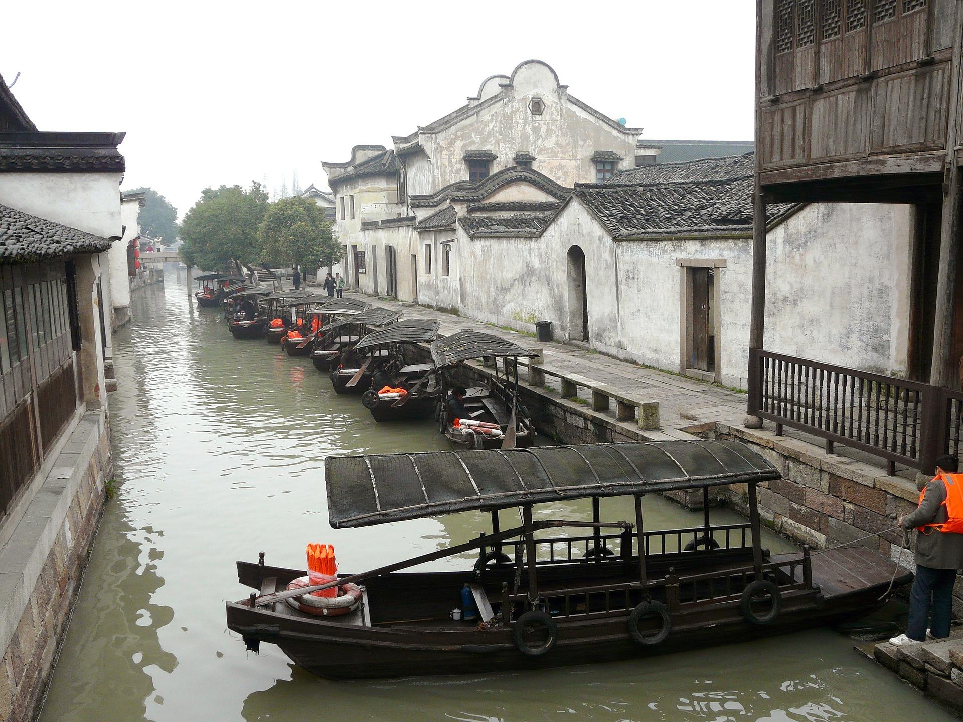 Pueblo de Wuzhen, China