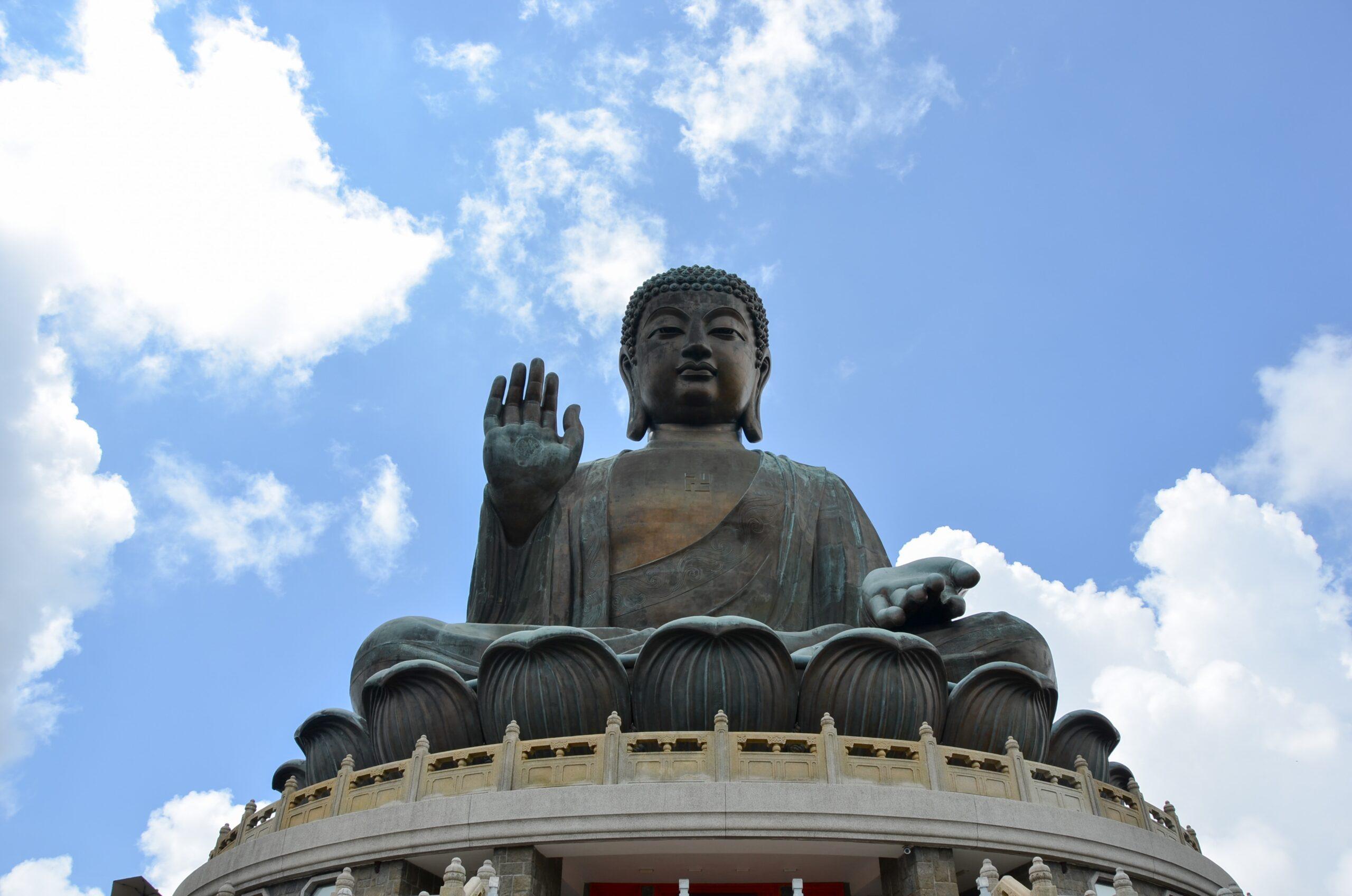 Big Budha en la Isla de Lantau