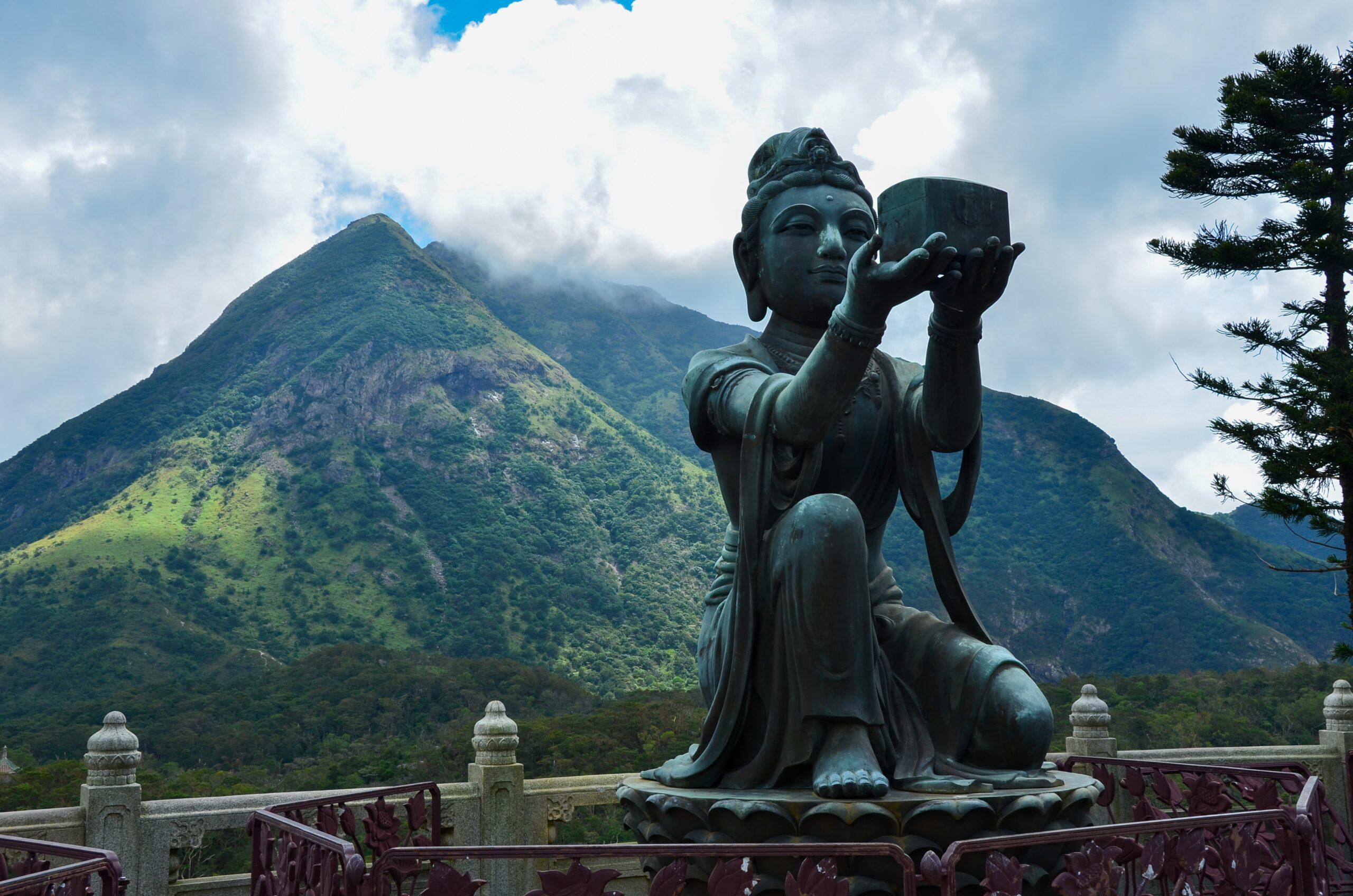 Vistas en la isla de Lantau