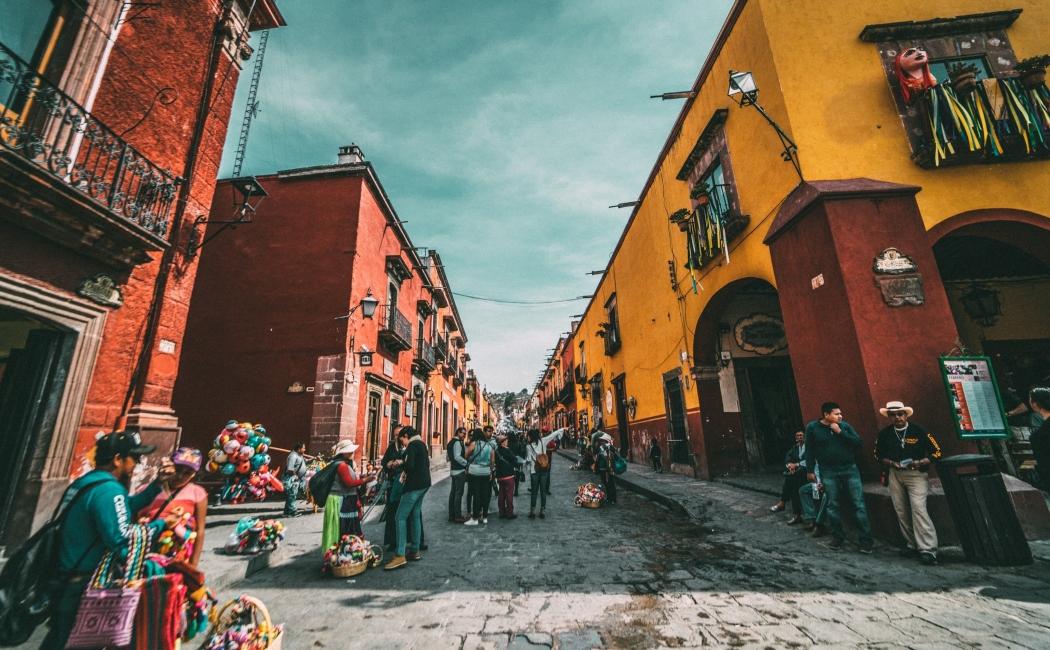 San Miguel de Allende. Viajar a México