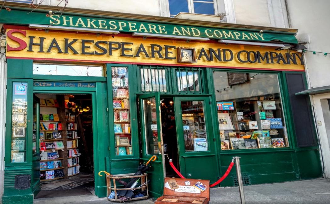 shakespeare and company. Qué ver en París en 3 días