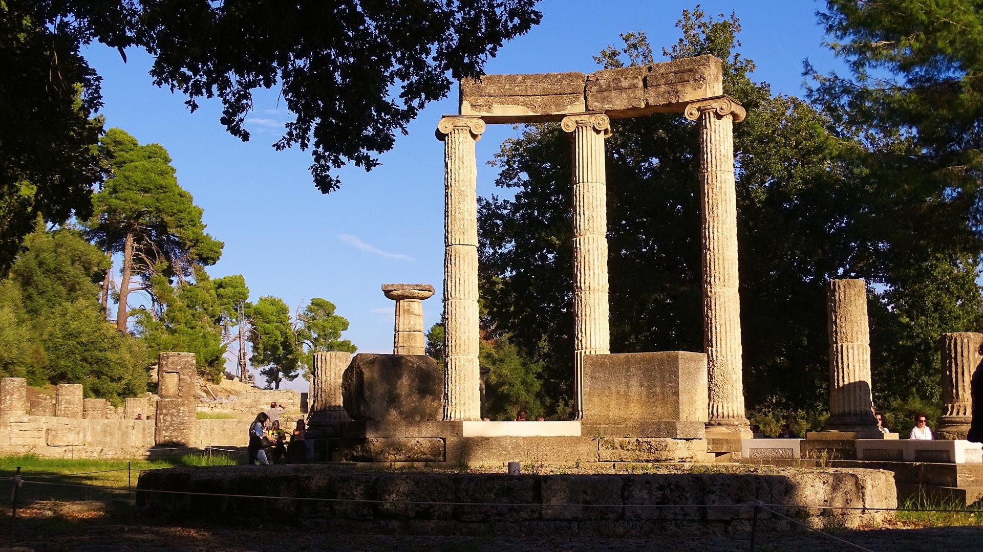 Yacimientos que visitar en Grecia