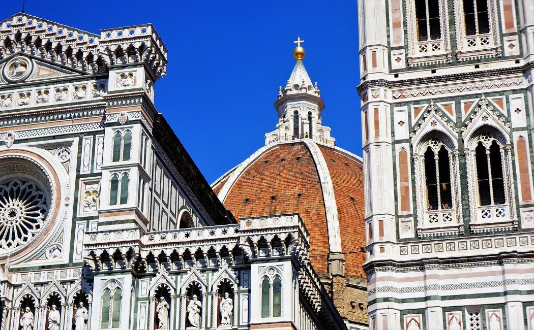 duomo y campanile. Italia Florencia