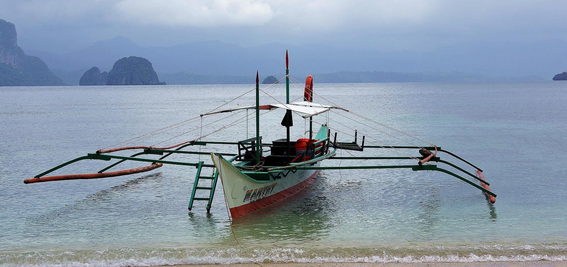 Embarcación típica de Filipinas
