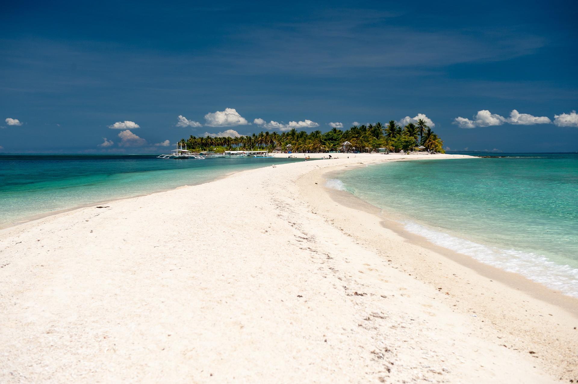 Una isla peculiar que ver en filipinas