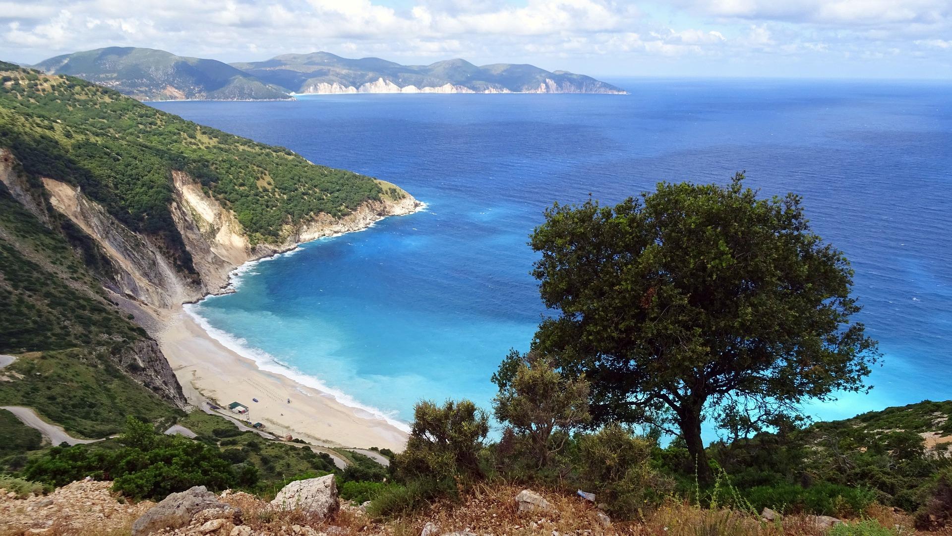 Playas de las islas griegas