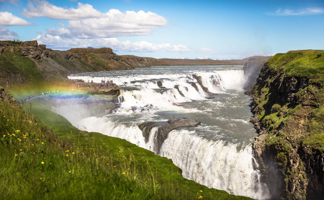 Gullfoss viaje a islandia