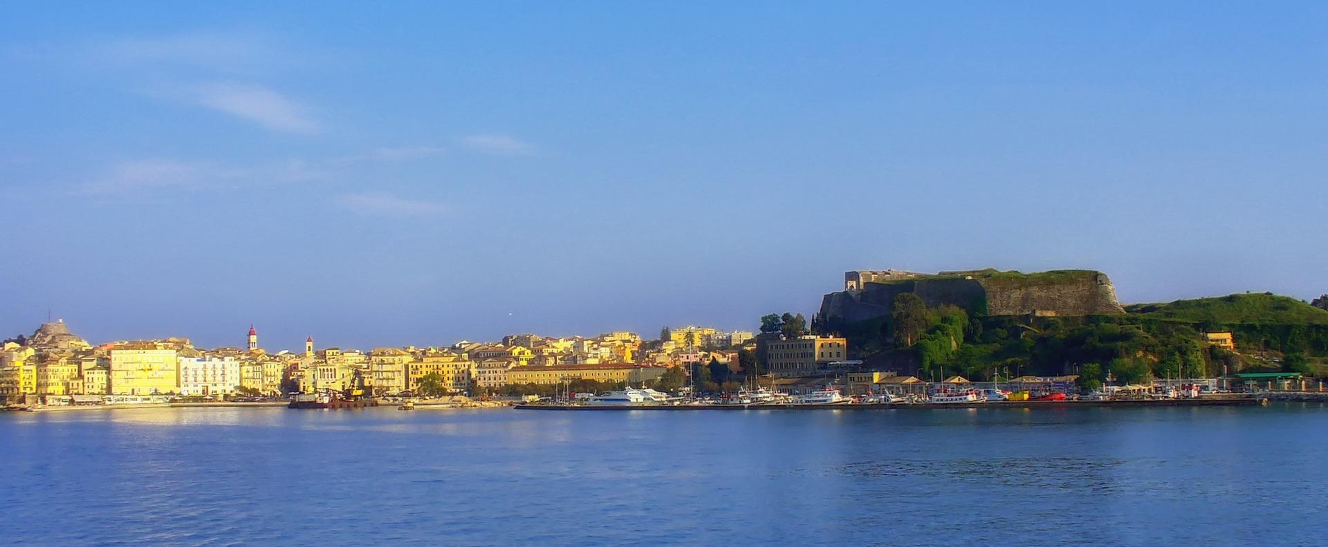 Corfú, una de las islas griegas más bonitas