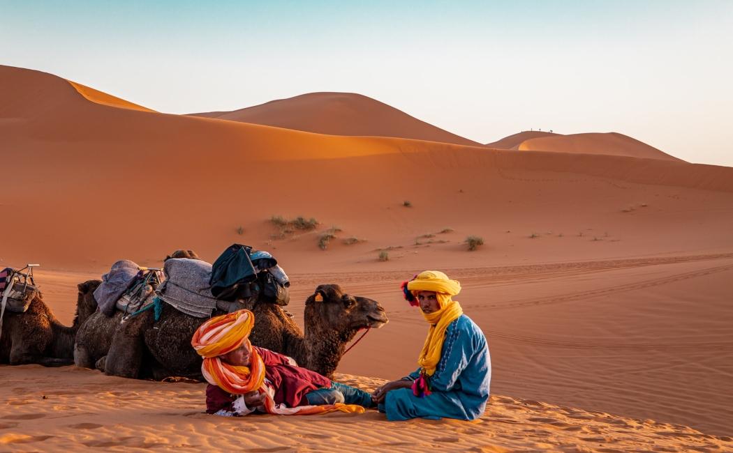 desierto viajar a marruecos