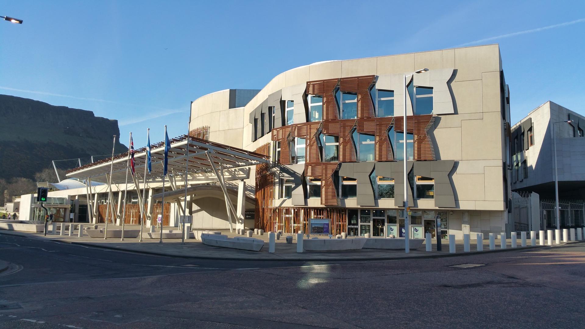 Edificios modernos de Edimburgo